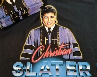 Christian Slater - AC Slater Mash up Tee