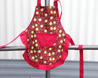 Kids Apple Apron