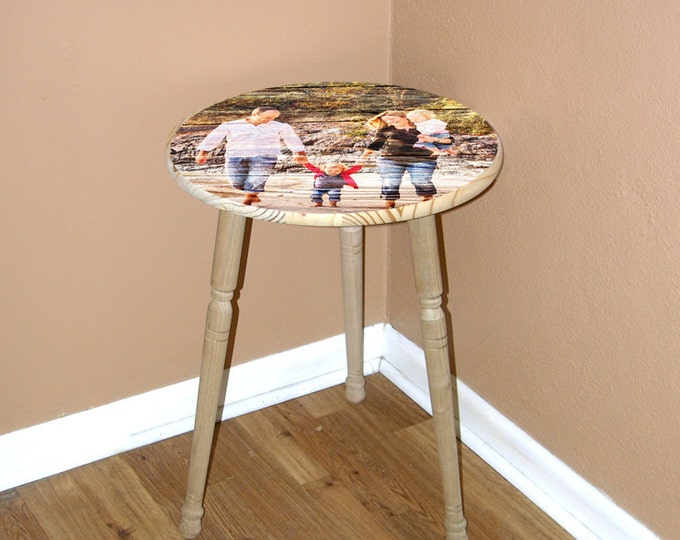End Table Side Table Night Stand Sofa Table Round End Table Coffee Table Rustic End Table Minimal Tables Bedside Table Wood Coffee Table