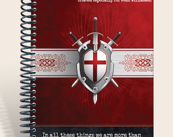 Prayer Journal Personalized - More Than Conquerors - Romans 8:37
