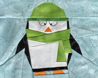 Little Penguin Polaris - Paper Piecing