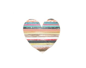 Heart Stripes Multicolor Medium