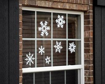 Snowflakes - Vinyl Decal Pack