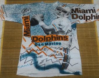 Miami Dolphins Team NFL Fullprint Tshirt
