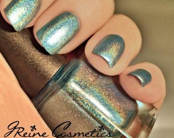 Hypnotik (DISCONTINUING) - Turquoise Blue Metallic Holographic Nail Polish