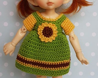 PukiFee/ Lati Yellow Dress Sunflower