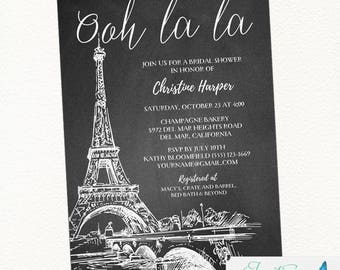 Paris bridal shower invitation paris shower invitation eiffel tower bridal shower invitation paris bridal shower paris shower invitation parisian bridal shower paris wedding filmwisefo