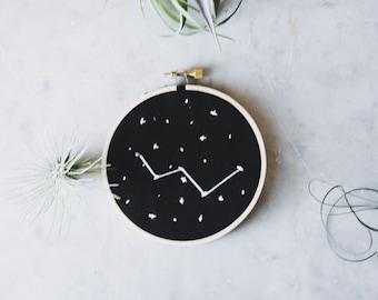 "4"" Cassiopeia Embroidery"