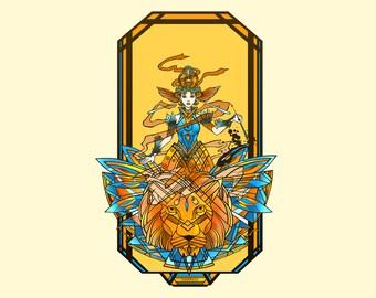 Dune Tarot Card #3: The Empress - Princess Irulan Corrino
