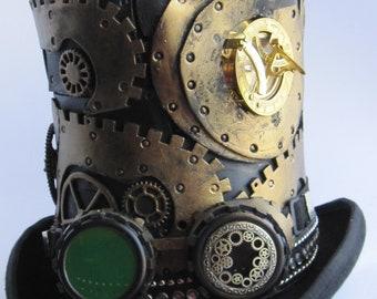 Steampunk high cylinder skeleton gears