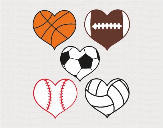 Sports Svg Files Baseball Heart Svg Svg Dxf Eps For Use