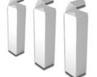 White Lip Balm Tube Box - 10 Pack