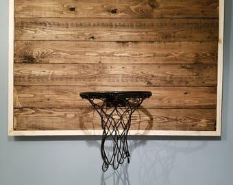 Handmade Basketball Goal, Basketball Hoop, Rustic Basketball Goal, Vintage  Designed For Office,