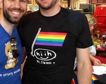 Our Pride Edition T-shirt in black.