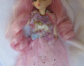 Unicorn BJD dress