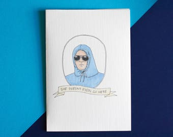 Mean Girls Card