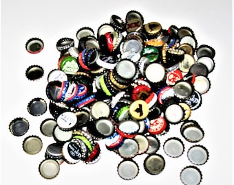 Old Bottle Caps Great Colors Vintage Retro Perfect For Crafts Candle Making More NO Plain Caps
