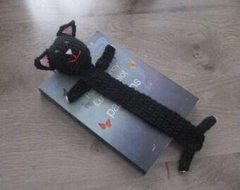 Bookmark cat crochet