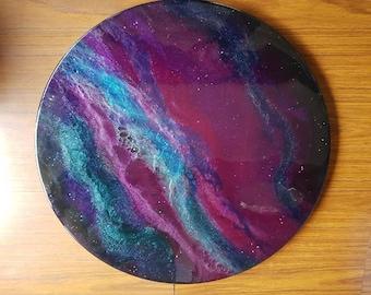 Saturn Porthole Wallart