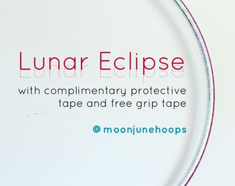 Lunar Eclipse Taped Polypro / HDPE  Hoop