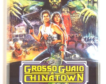 Big Trouble in Little China (Italy) Movie Poster Fridge Magnet