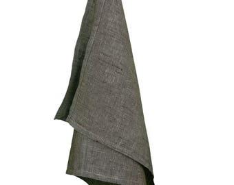 Linen kitchen towel brown, Natural linen towel, Linen tea towel, Linen kitchen towel, Natural kitchen towel, Small towel, Kitchen linen