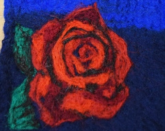 MADE TO ORDER Felted Wall hanging