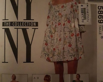 McCall's 5869, Mini Dress Pattern
