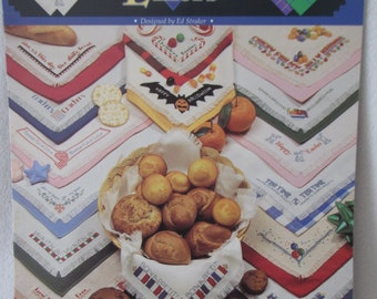 15 Basket Liners Counted Cross Stitch Booklet
