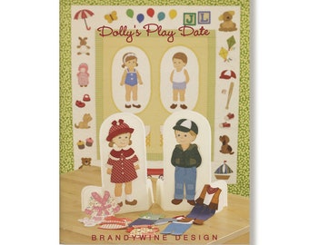 Quilting Book DOLLYS PLAY DATE by Linda Hohag