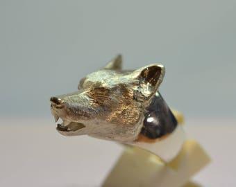 Silver Werewolf Ring!