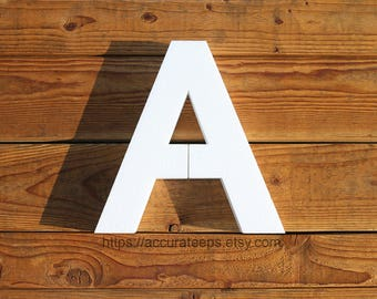 15 inch tall, 2 inch thick foam letter for crafting, painting, hanging, party decoration / Modified Arial