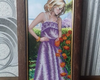 Beaded pictures