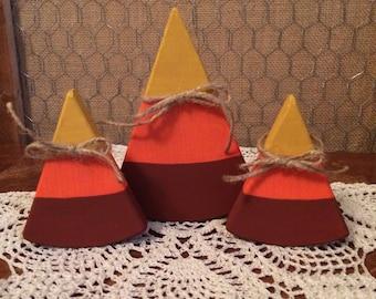 Wooden Candy Corn Set #2