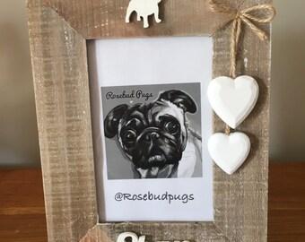 Bespoke Personalised British Bulldog Photo Frame