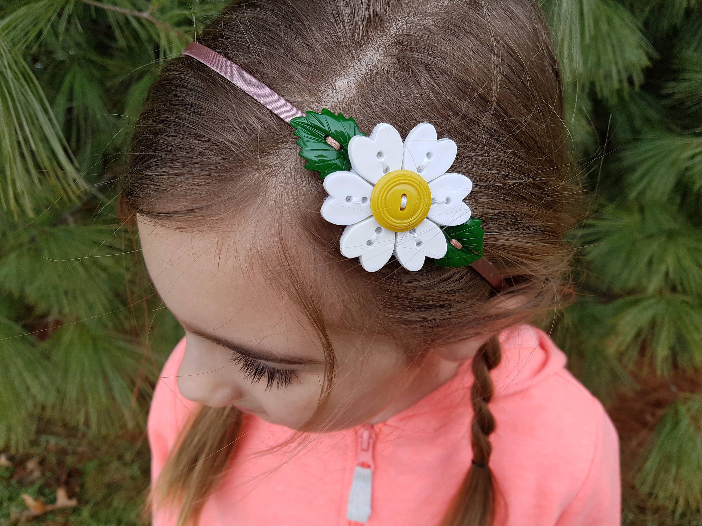 Daisy Headband Flower Headband Headbands Headbands For