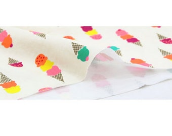 Cotton Jersey Knit Fabric Icecream