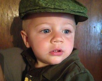 Baby Newsie Flat Cap Beret