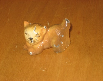 Hubley vintage cat paperweight