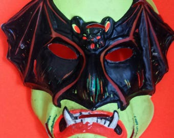 Vintage Vampire Bat Mask