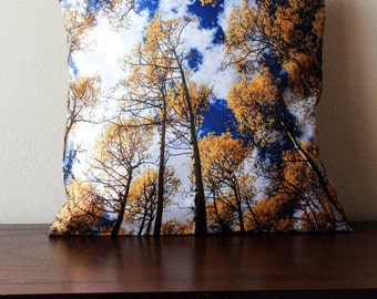 Aspen Leaf Pillow Cover, Aspen Trees Pillow Cover, Home Decor , Autumn Home Decor , Pillow Cover, Colorado, Colorado Gift