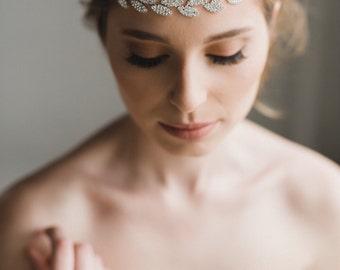 Bridal Hair Vine   Crystal Hair Vine   Crystal Headband   Bridal Headband   Silver Hair Vine   Bridal Hairband   Wedding Headband   Gracie