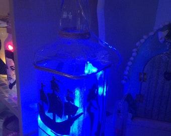 Nautical Silhouette JD Lantern