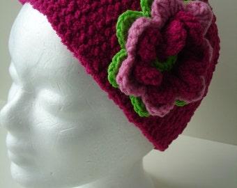 Custom Floral Cloche Hat for Girlie Girls