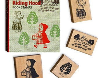 Book Stamp Set - Red Riding Hood