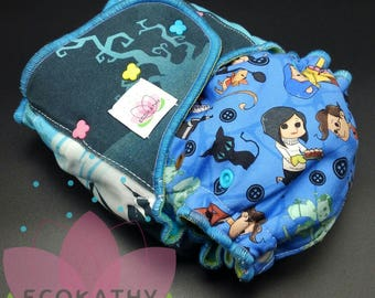 Coraline Hybrid Fitted Luxury Diaper