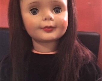 "Vintage 36"" Companion Play Pal Doll Late '50's"