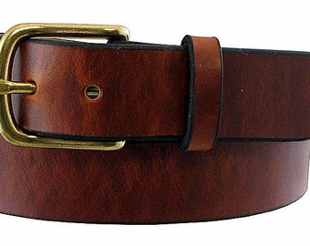 Patriot Wide Leather Belt