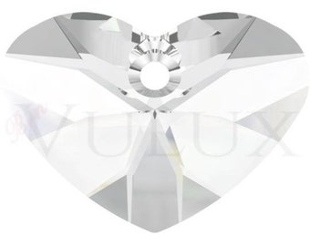 Wholesale Swarovski Crazy 4 U Heart 6260 - 27 MM Crystal (001)