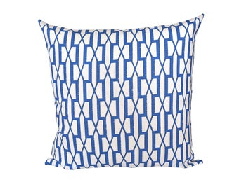 Belvedere Sea designer pillow covers - Made to Order - Schumacher